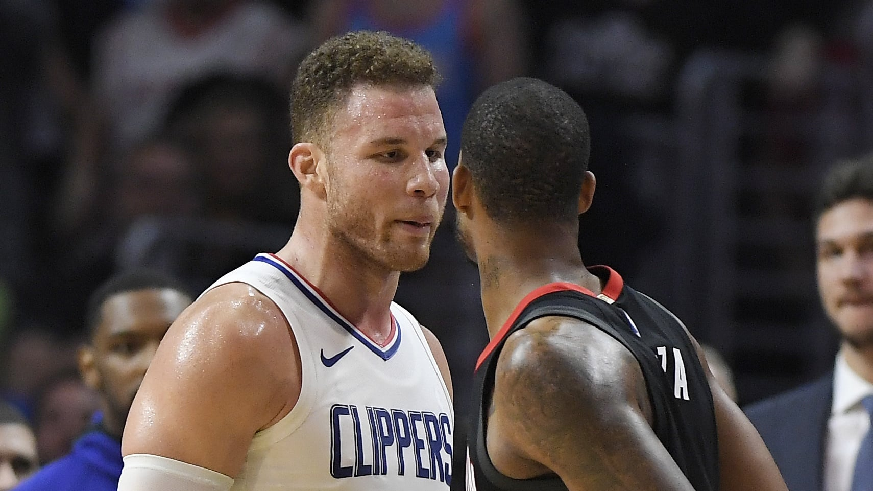 Chris Paul, Rockets try to storm Clippers locker room
