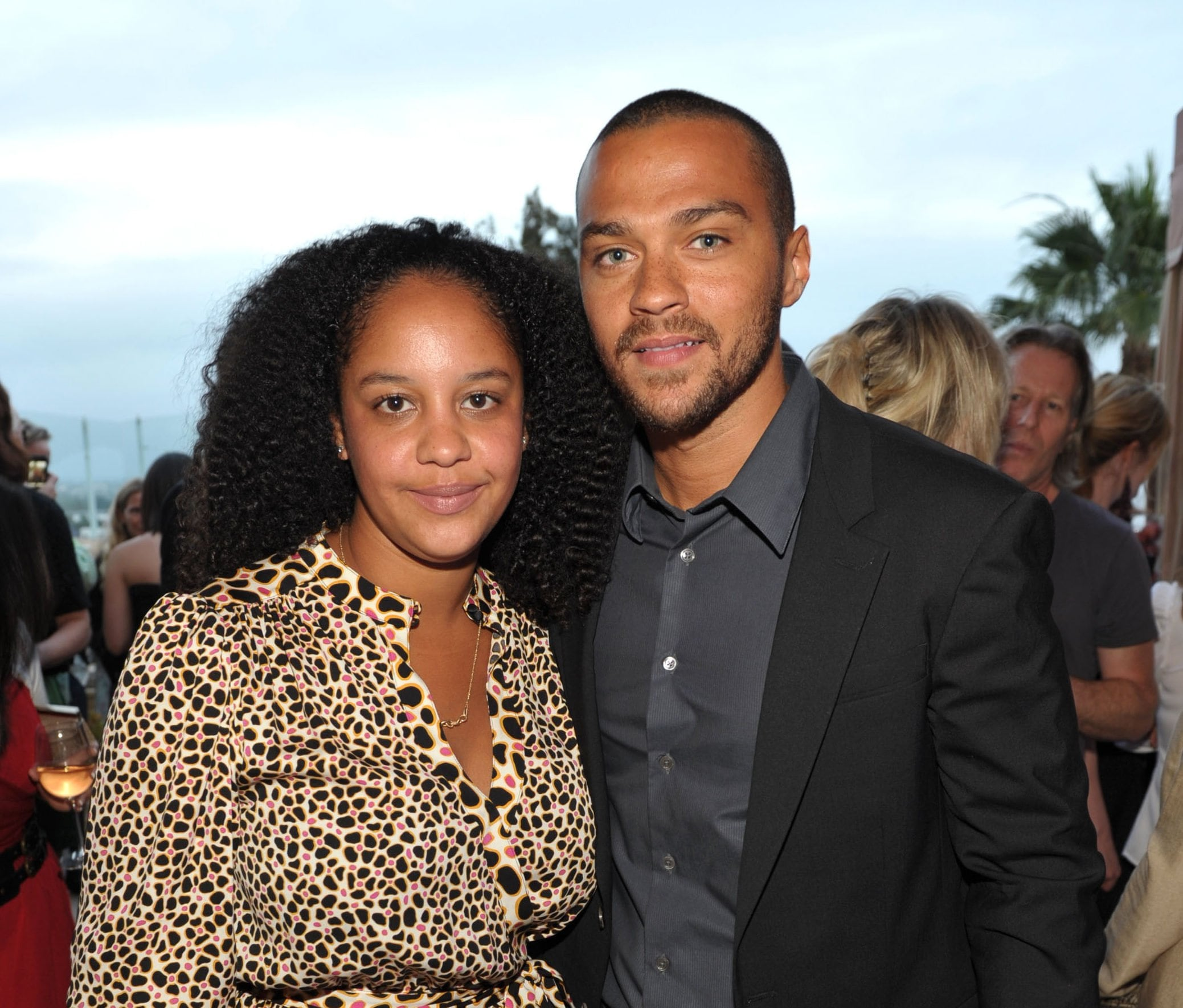 Jesse williams, aryn drake-lee thegrio.com