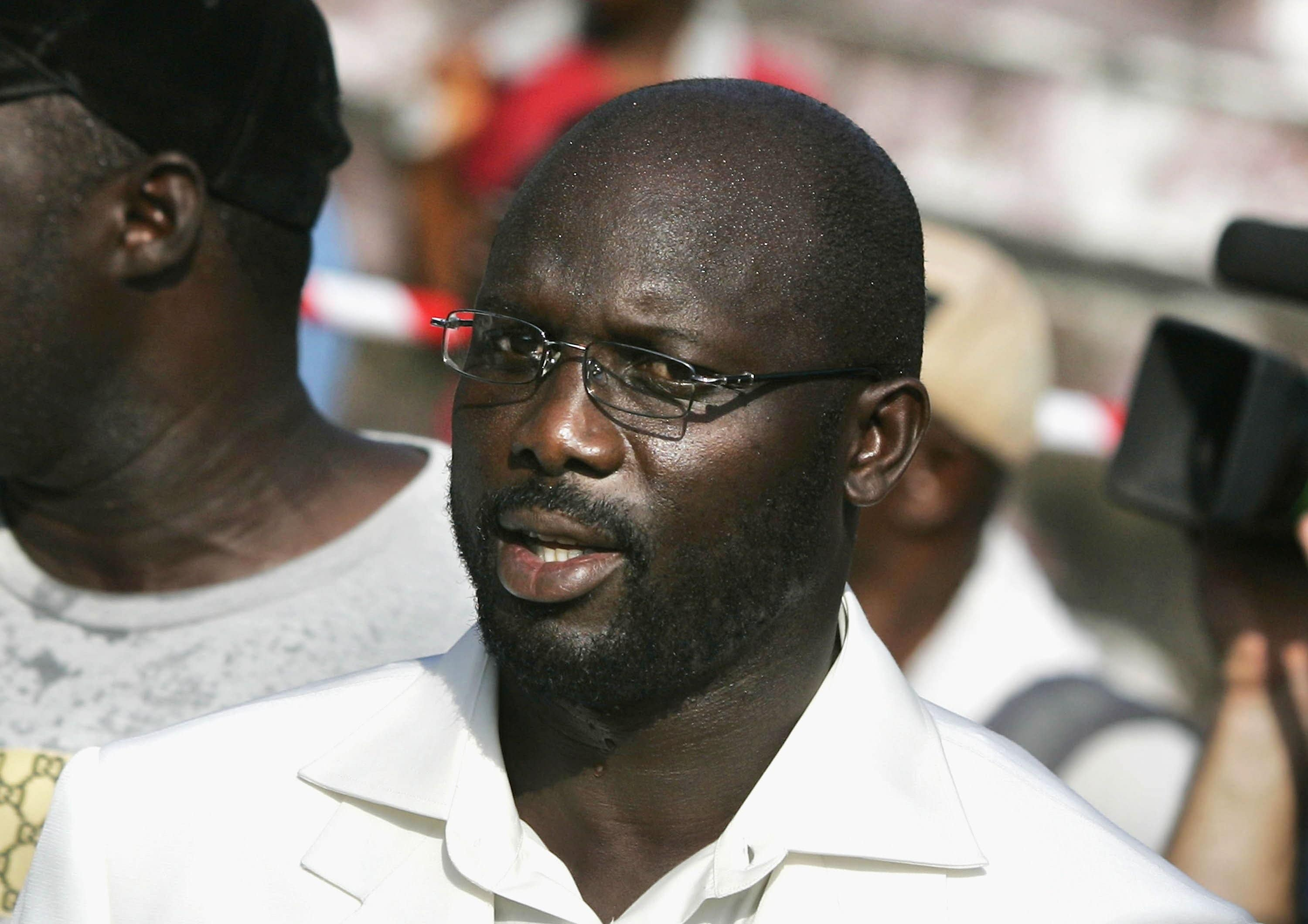 George Weah sworn in as president of Liberia