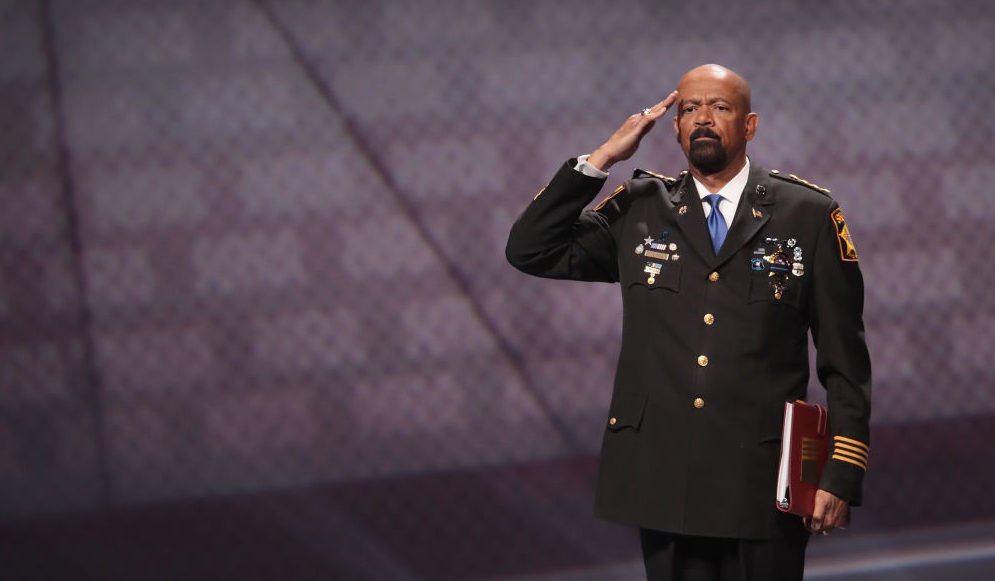 Former Milwaukee County Sheriff David Clarke faces civil trial