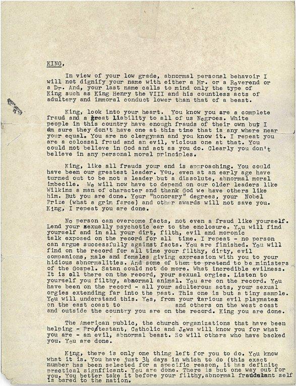 MLK FBI Letter thegrio.com