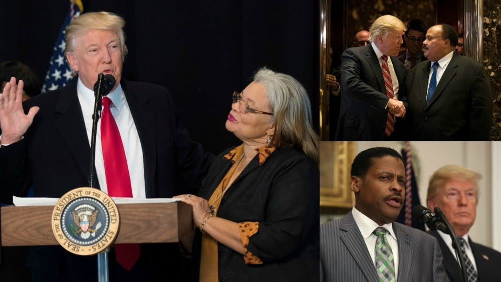 I'm Not a Racist, Says President Trump