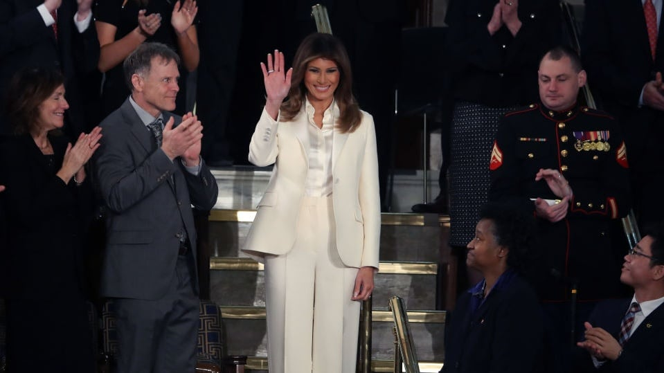 Melania Trump thegrio.com