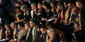congressional black caucus members wear kente cloth thegrio.com