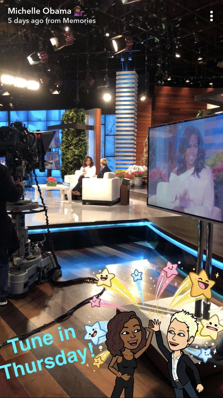 Michelle Obama Snapchat theGrio.com