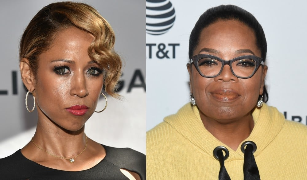 SHE TRIED IT: Stacey Dash thought it was a good idea to come for Oprah