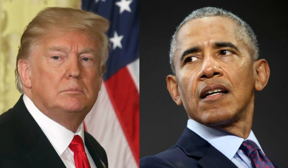 Donald Trump Rages at Obama in Demented New Tweet