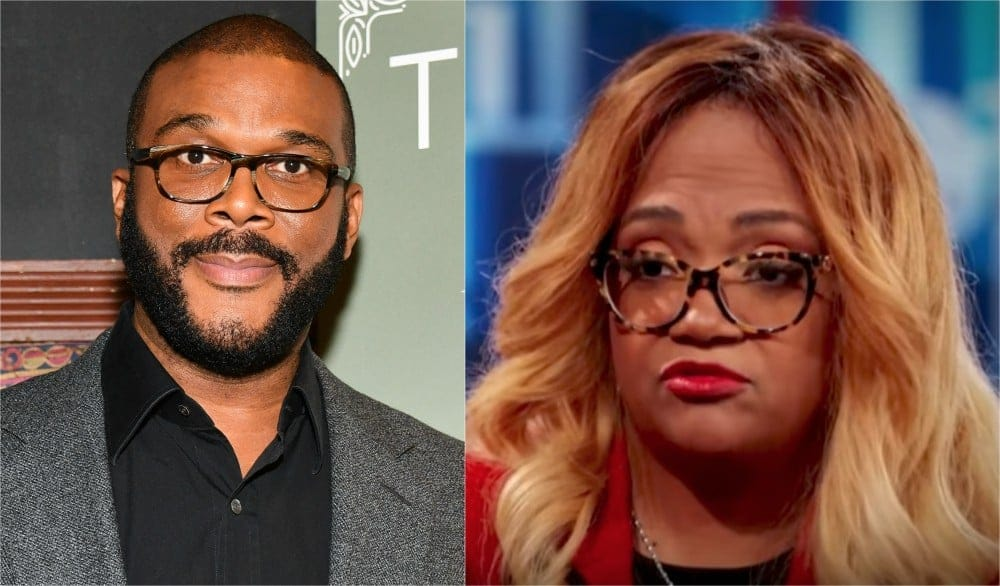 Woman claims she's married to Tyler Perry, says he's raising