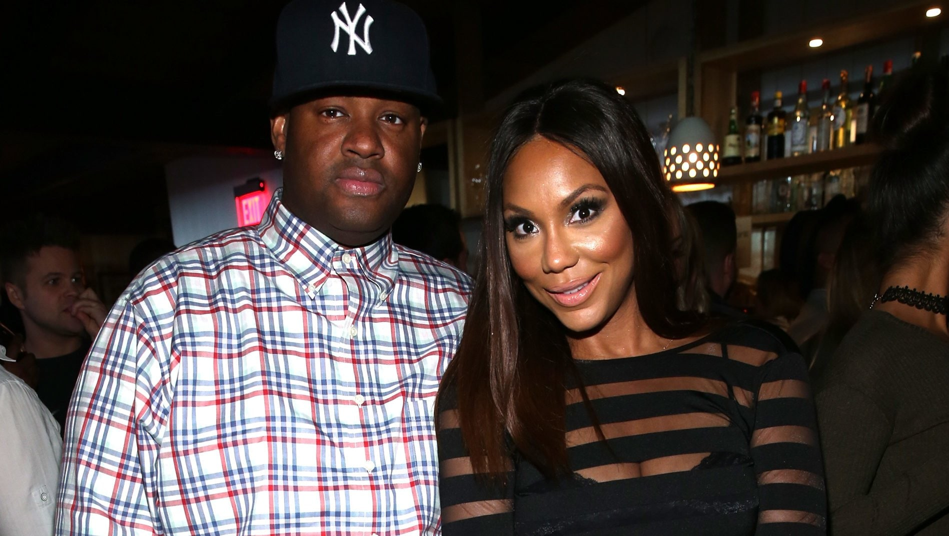 tamar braxton spends new years with vince defends him