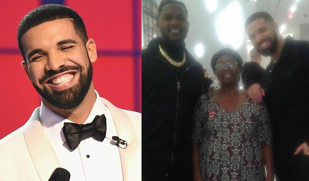 Drake takes 63-year-old hotel maid on $10000 shopping spree