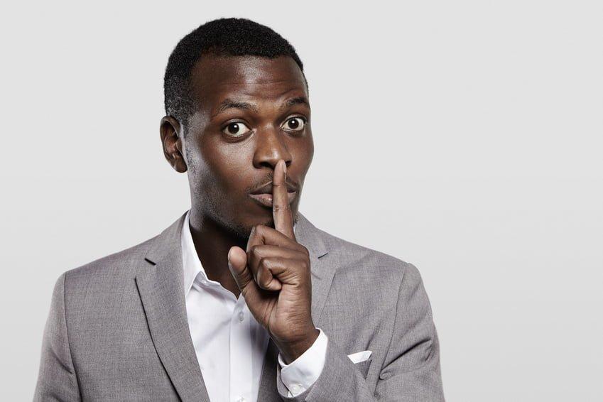 Black Man Silent thegrio.com