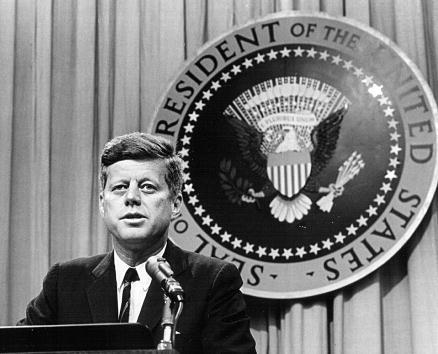 John F. Kennedy thegrio.com