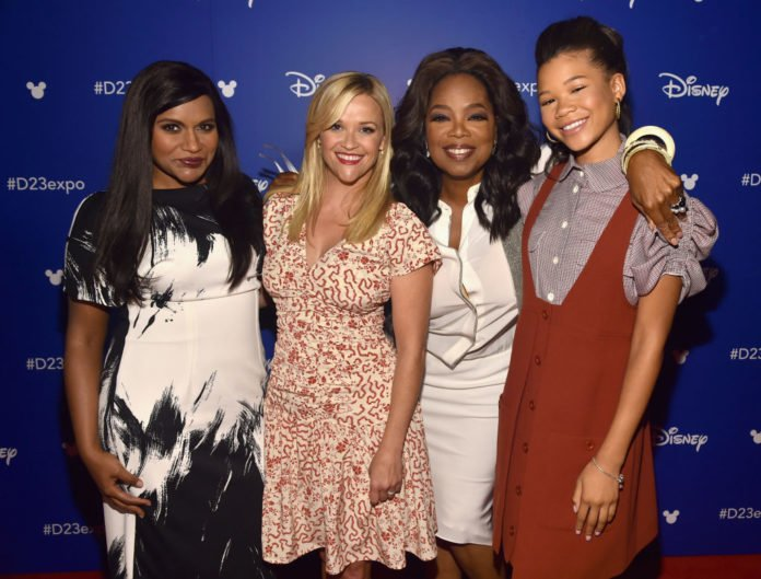 Storm Reid, Oprah Winfrey, Reese Witherspoon, Mindy Kaling thegrio.com