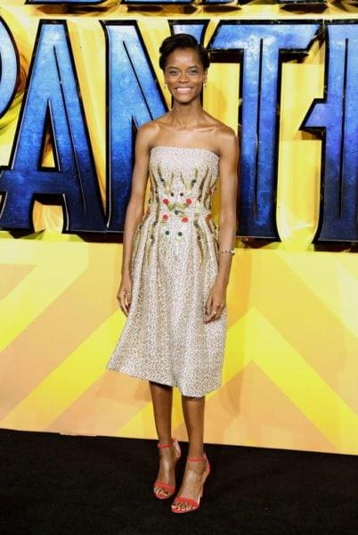 Letitia Wright-BP UK premiere