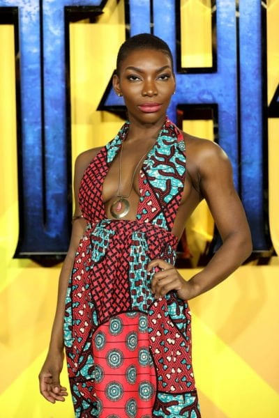 Michaela Coel @ BP UK premiere