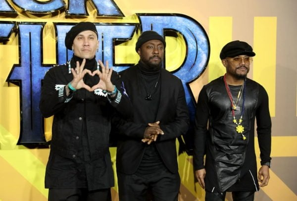 Black Eyed Peas @ BP UK premiere