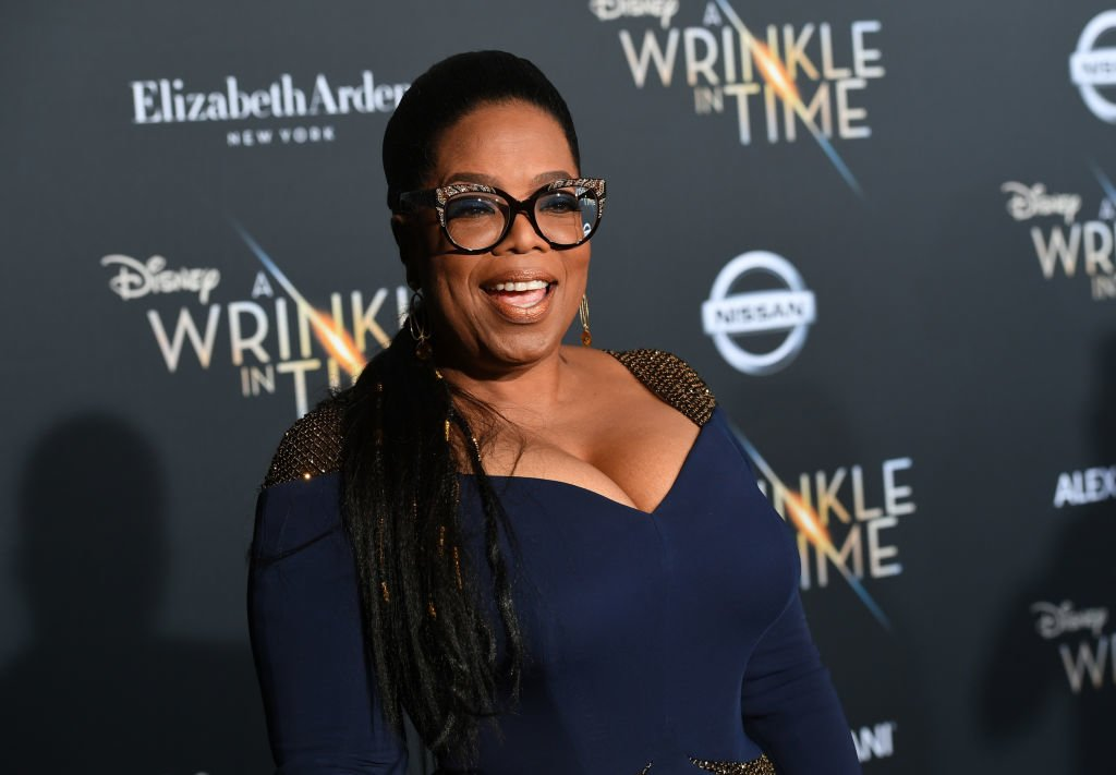 Oprah says God hasn't told her to run for President yet