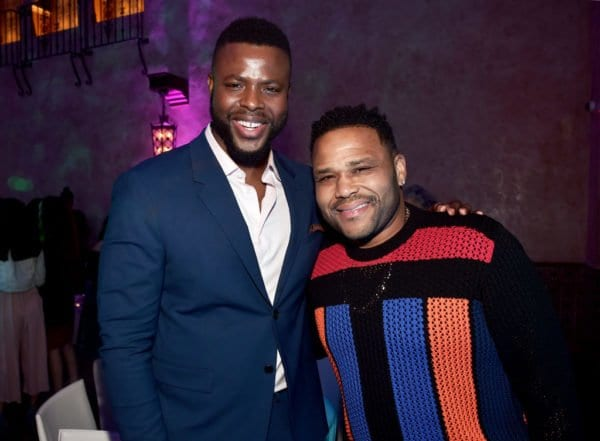 Anthony Anderson and Winston Duke
