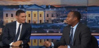Roy Wood Jr on the Daily Show with Trevor Noah. (Comedy Central) thegrio.com