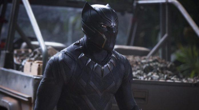 Black Panther in costume thegrio.com