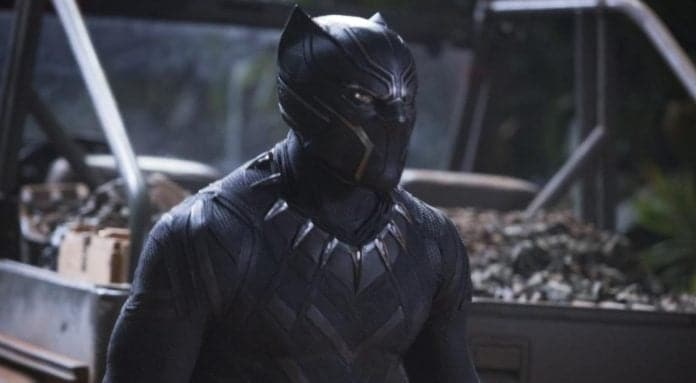 Black Panther in costume thegrio.com