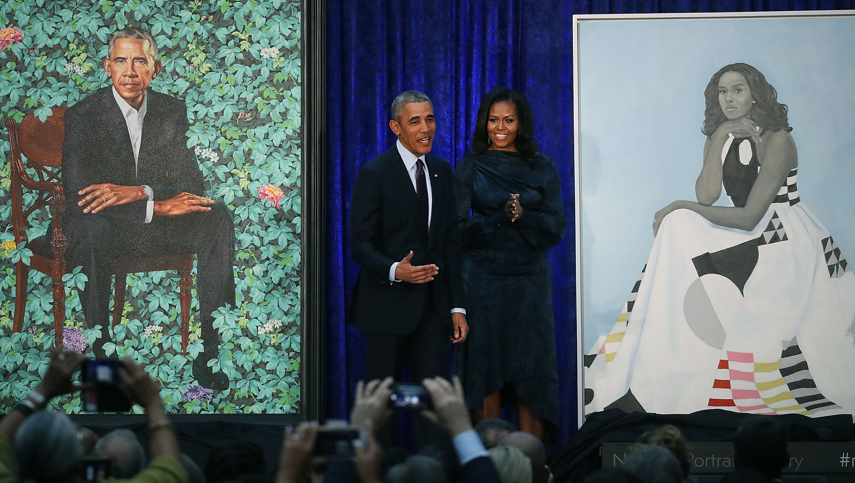 The story behind Michelle Obama's Milly portrait gown