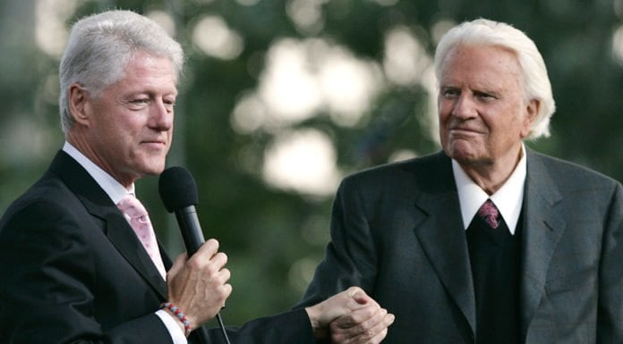 Billy Graham Bill Clinton theGrio.com