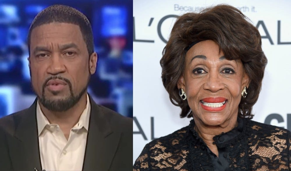 Trump-loving pastor Darrell Scott comes for Maxine Waters