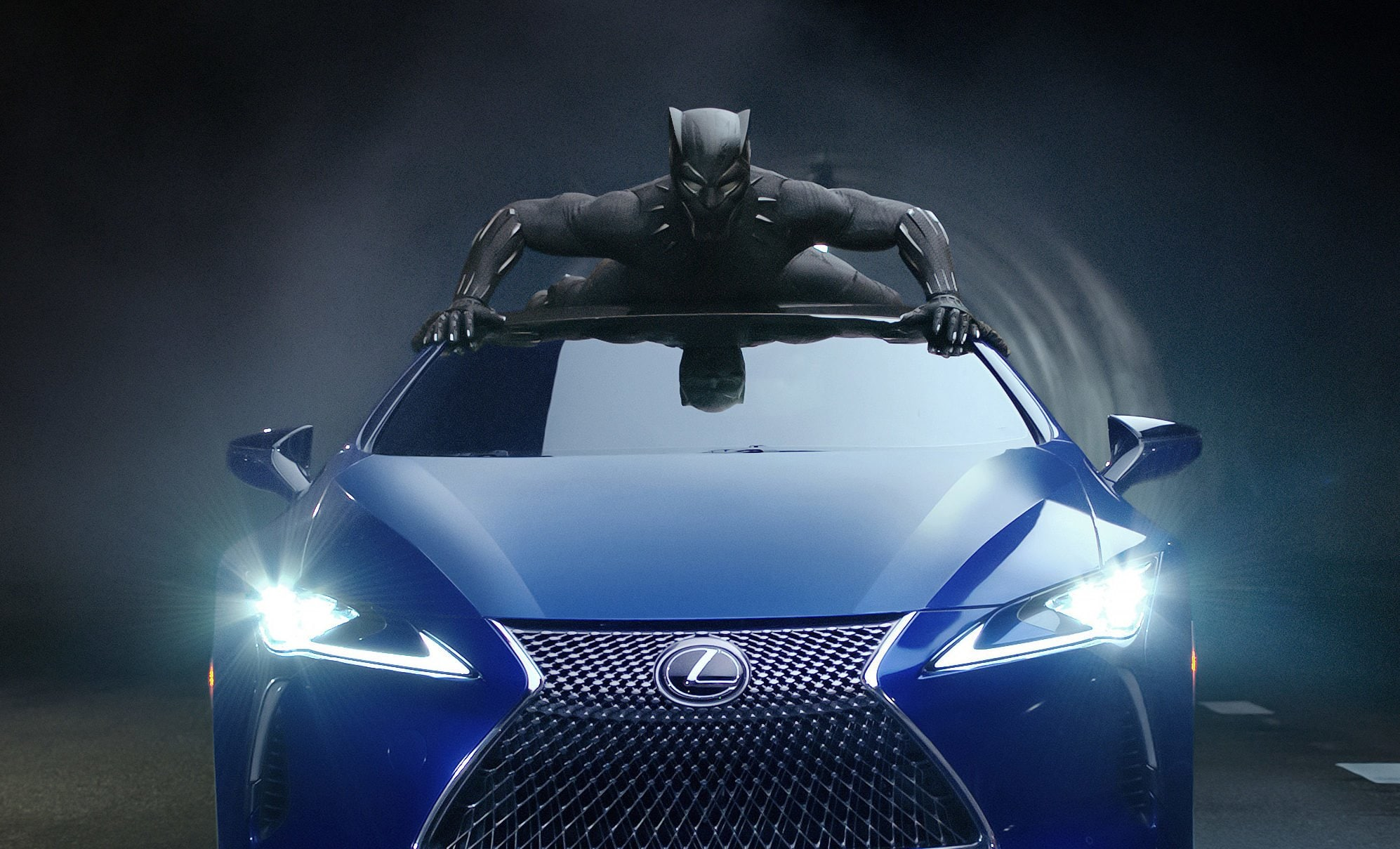 Lexus Action Packed Black Panther Ad Has Us Hype Thegrio