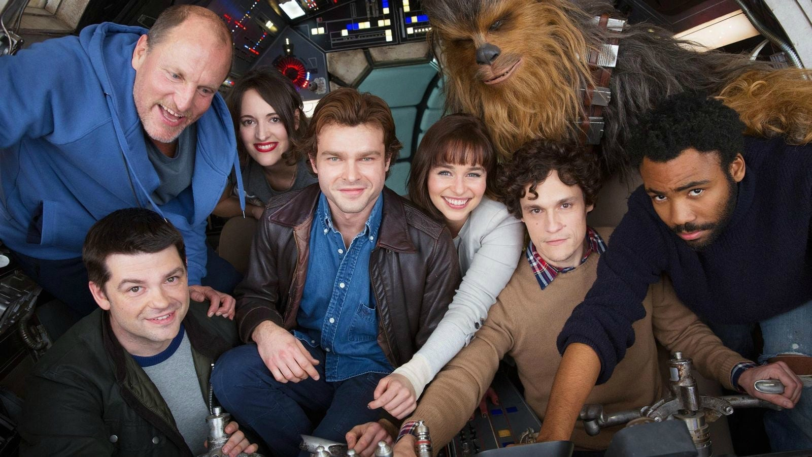 Here's Your First Look at 'Solo: A Star Wars Story'