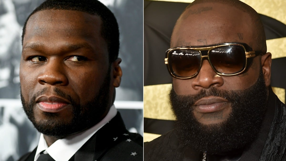 50 Cent's savage response to Rick Ross health scare: 'If ...
