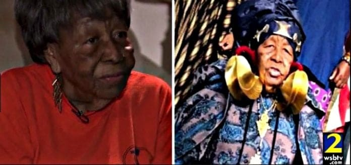 Dorothy Steel landed her role in Black Panther at age 91. (WSBTV) thegrio.com