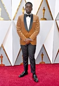 Daniel Kaluuya attends the 90th Annual Academy Awards thegrio.com