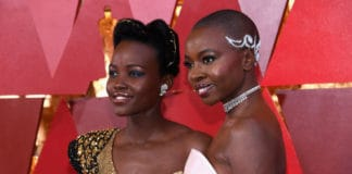 Lupita Nyong'o Danai Gurira Academy Awards thegrio.com