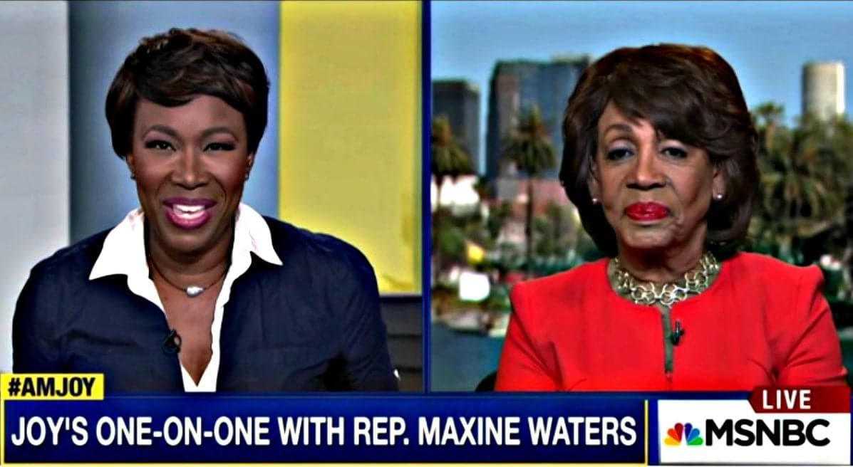 Rep. Waters: Trump Criticism Not Surprising