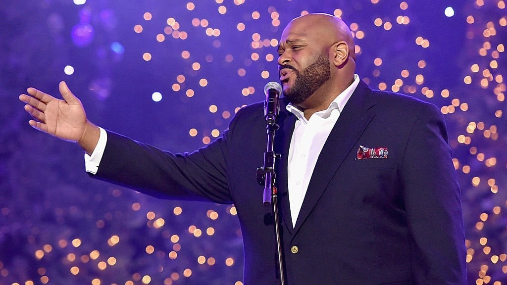 Luther Vandross Christmas.New Ruben Studdard Release Is A Luther Vandross Tribute