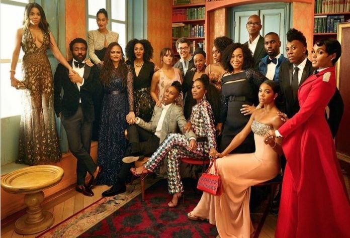 Lena Waithe Oscar group photo