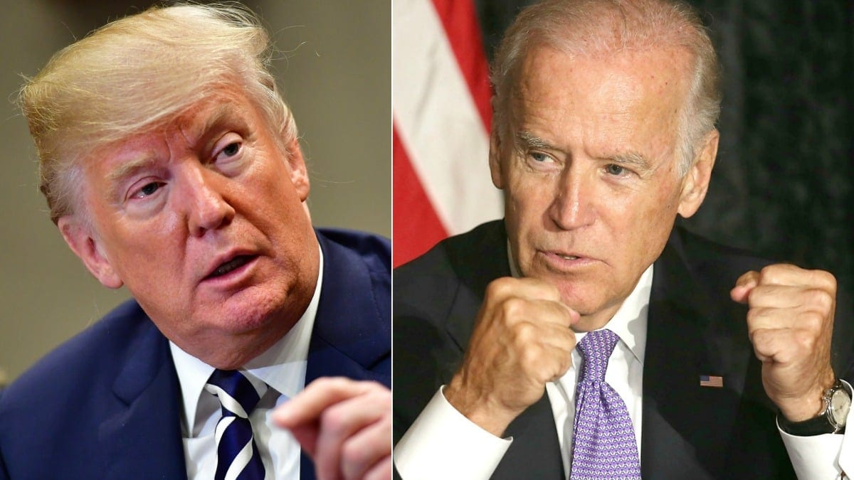 Biden sells 'I paid more taxes than Trump' stickers, and the price is perfect