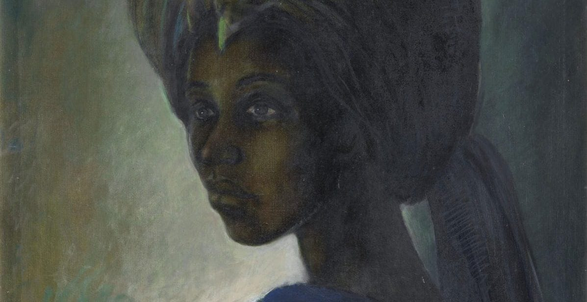 Long-lost Nigerian masterpiece 'Tutu' sells at auction for record-breaking amount