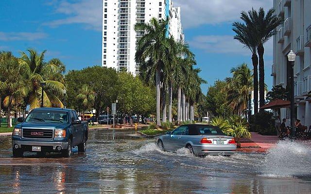 Miami flooding thegrio.com