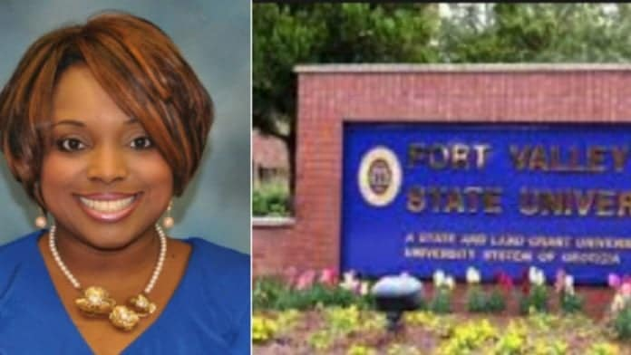 Alecia Johnson has resigned from her position at Fort Valley State University amid AKA sex scandal. thegrio.com