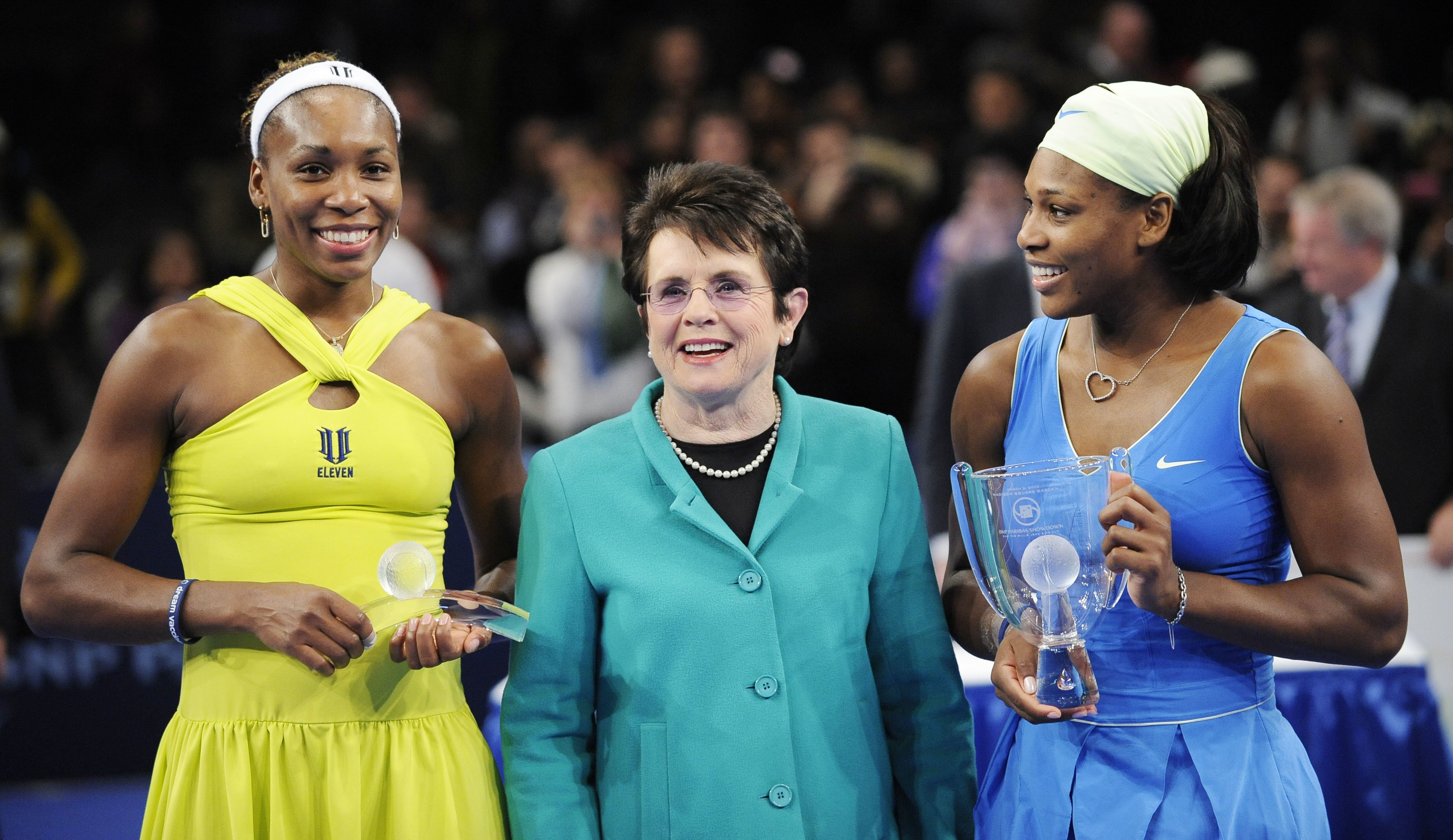 Billie Jean King Venus Williams Serena Williams thegrio.com