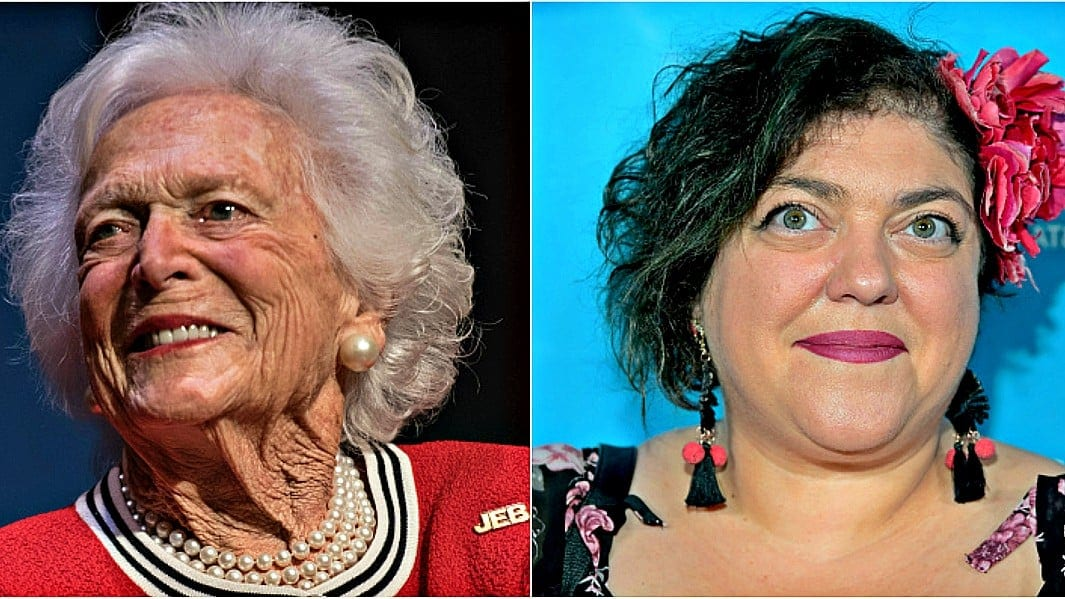 Barbara Bush called 'amazing racist' after her death in professor's controversial tweet