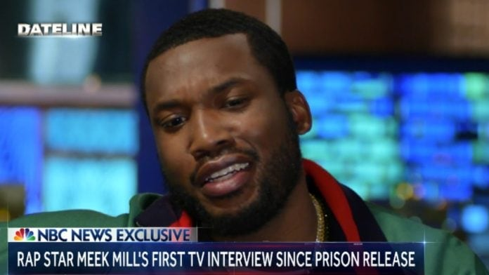 Meek Mill interview with Lester Holt thegrio.com