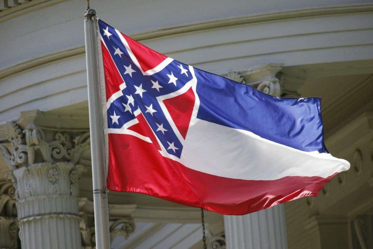 confederate flag in center of lawsuit over mississippi