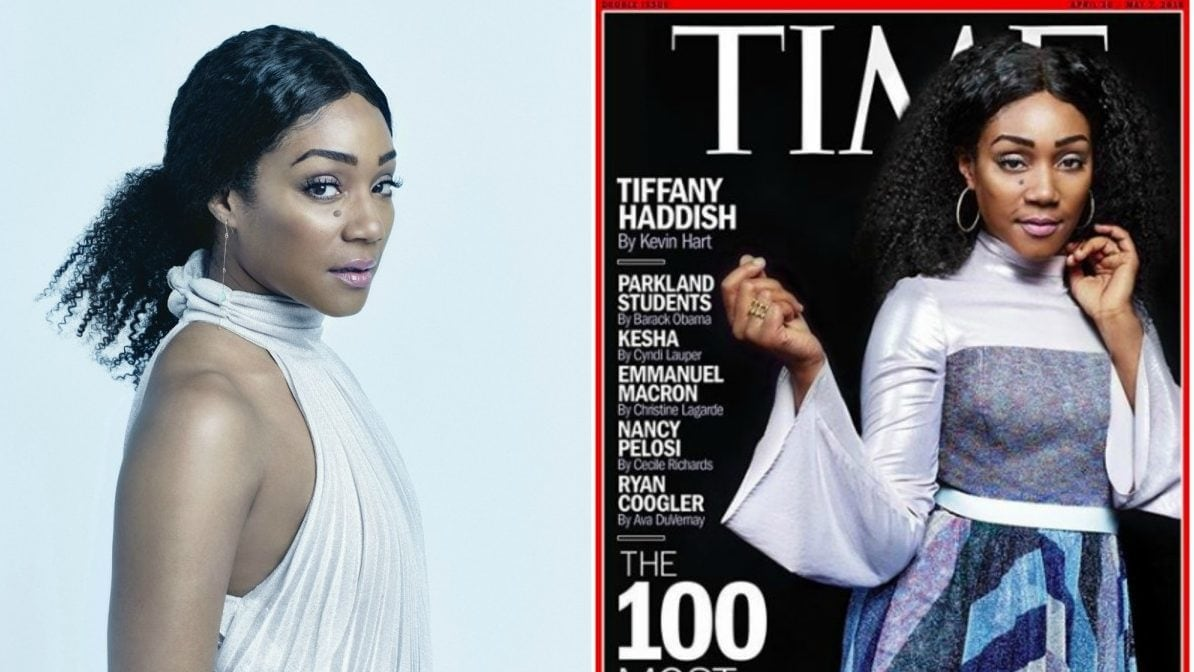 Tiffany Haddish Lands On The Cover Of TIME 100