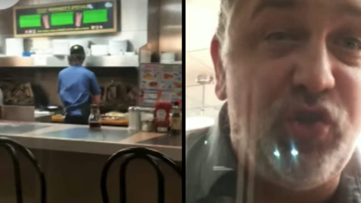 VIDEO: Waffle House locks doors to keep out Black woman, and white man threatens to shoot her