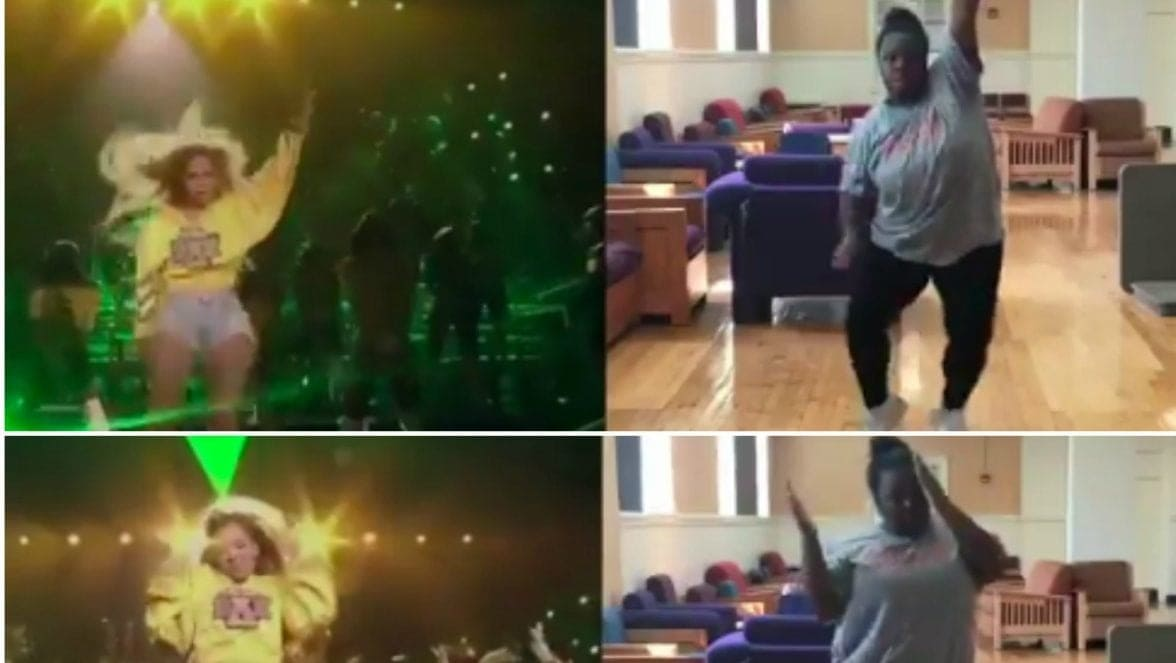 College student goes viral with spot-on recreation of Beyoncé's BeyChella choreography - theGrio