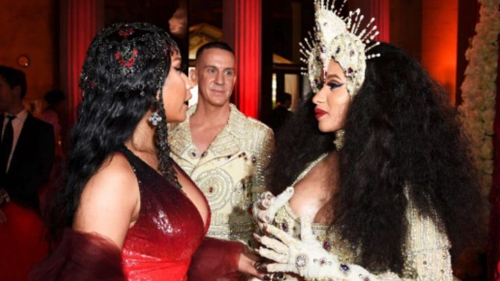 Is a Nicki Minaj and Cardi B dust-up brewing again?