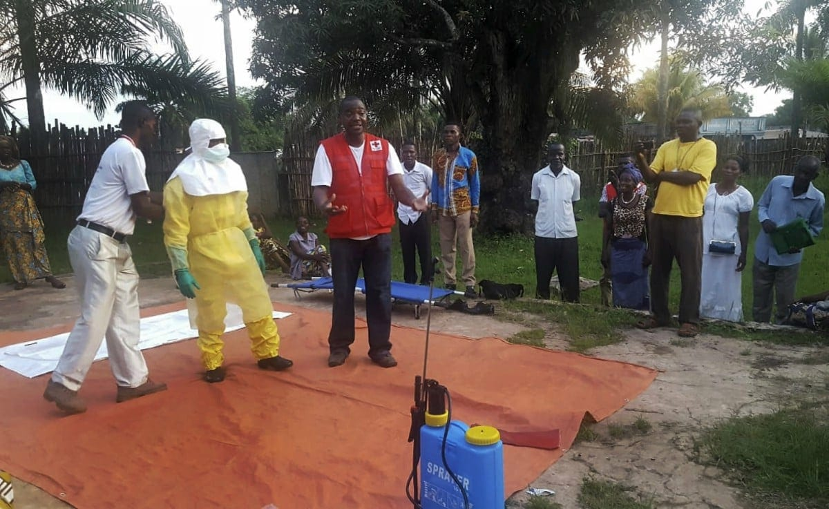 Ebola spreads to DRC city surrounded by rebels